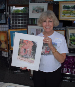 Mary Ann Bucci at the 2009 Y-Bridge Arts Festival