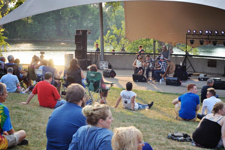 Entertainment at the Y-Bridge Arts Festival